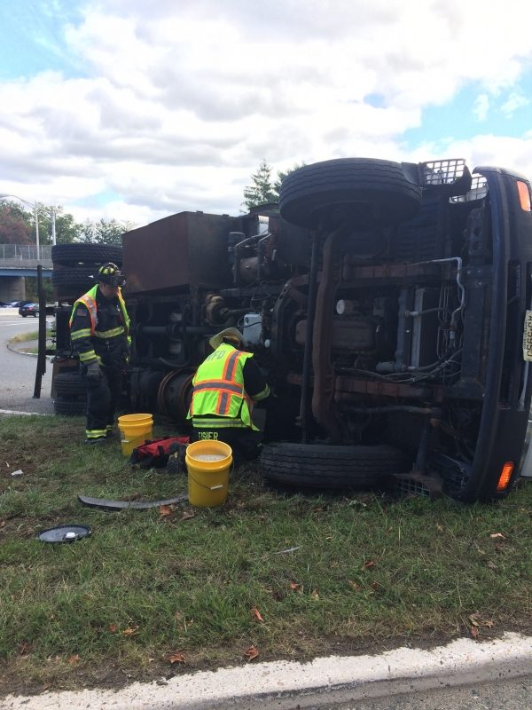 WFD Responds to Rollover on 208 South at Russell Avenue
