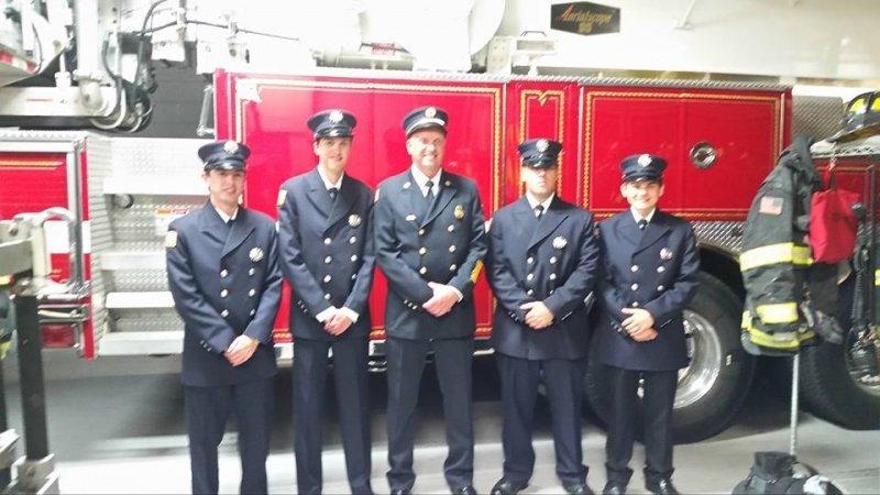 Fire 1 Graduates