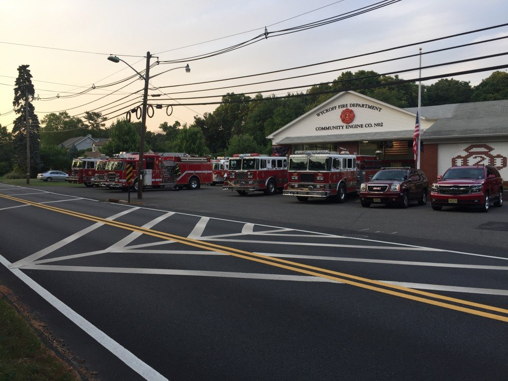 Wyckoff FD Holds Departmental Meeting