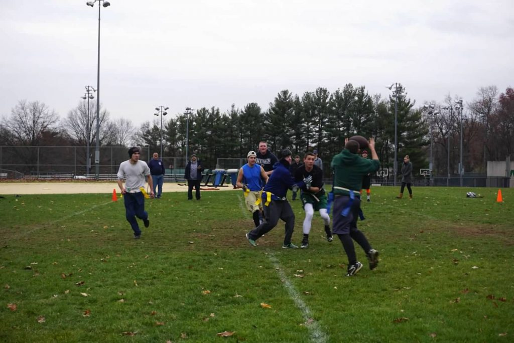WFD Members Play Second Annual Turkey Bowl