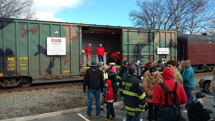 WFD Supports Toys for Tots Toy Drive