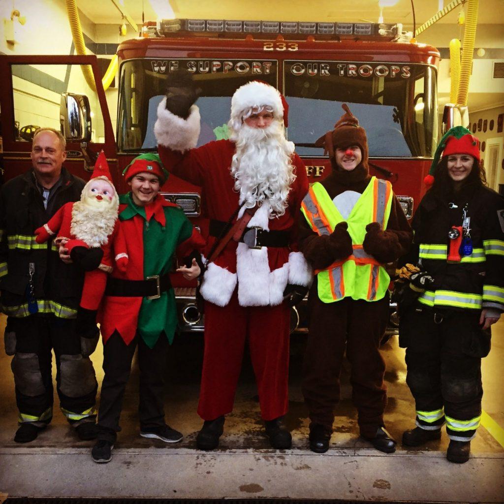 Santa Comes to Wyckoff!