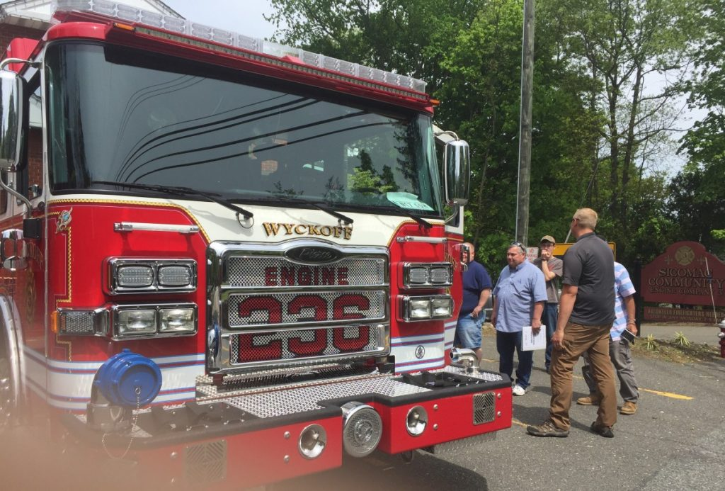 Company 3 Takes Delivery of New Engine 236