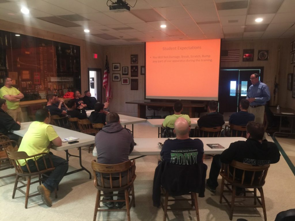 WFD Holds Pump Operator and Rescue Team Classes